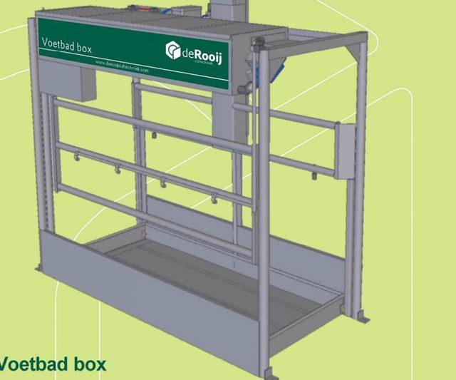 Voetbadbox